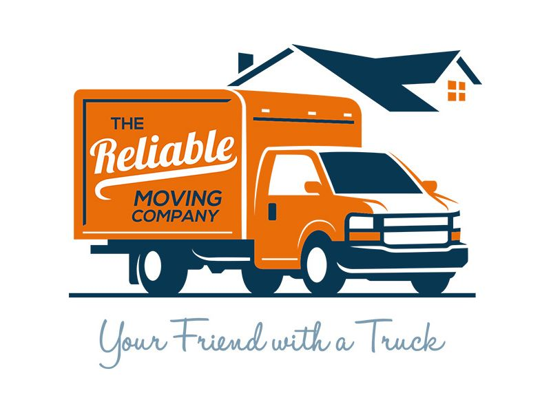 the reliable movers logo