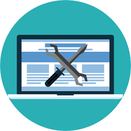 website maintenance icon